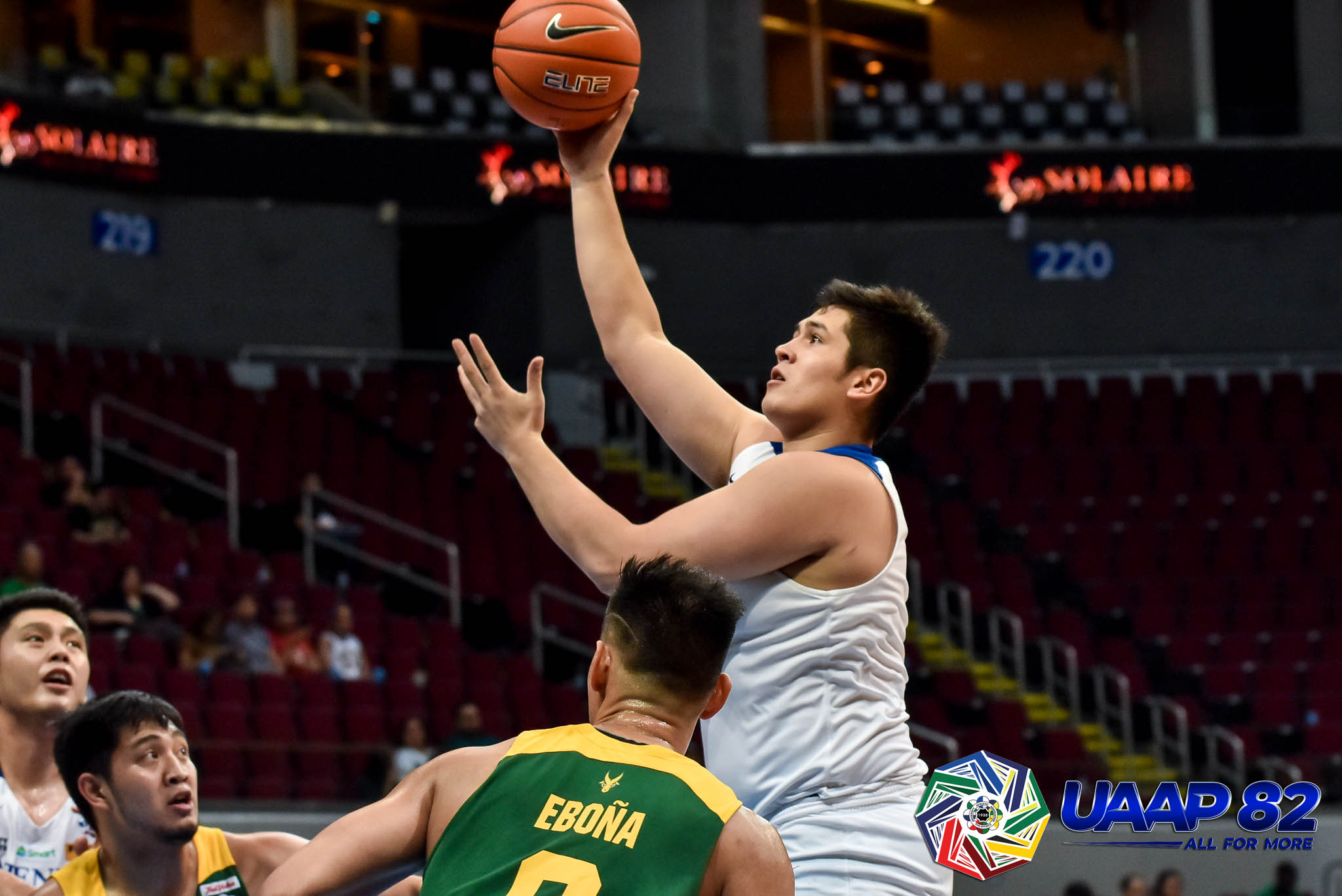 Tiebreaker Times Ateneo survives FEU to go to 11-0, gets wake-up call ADMU Basketball FEU News UAAP  UAAP Season 82 Men's Basketball UAAP Season 82 Thirdy Ravena Tab Baldwin Patrick Maagdenberg Olsen Racela L-Jay Gonzales FEU Men's Basketball Ateneo Men's Basketball Angelo Kouame