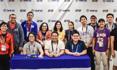 Tiebreaker Times Collegiate Press Corps officials elected NCAA News UAAP  UAAP Season 82 NCAA Season 95