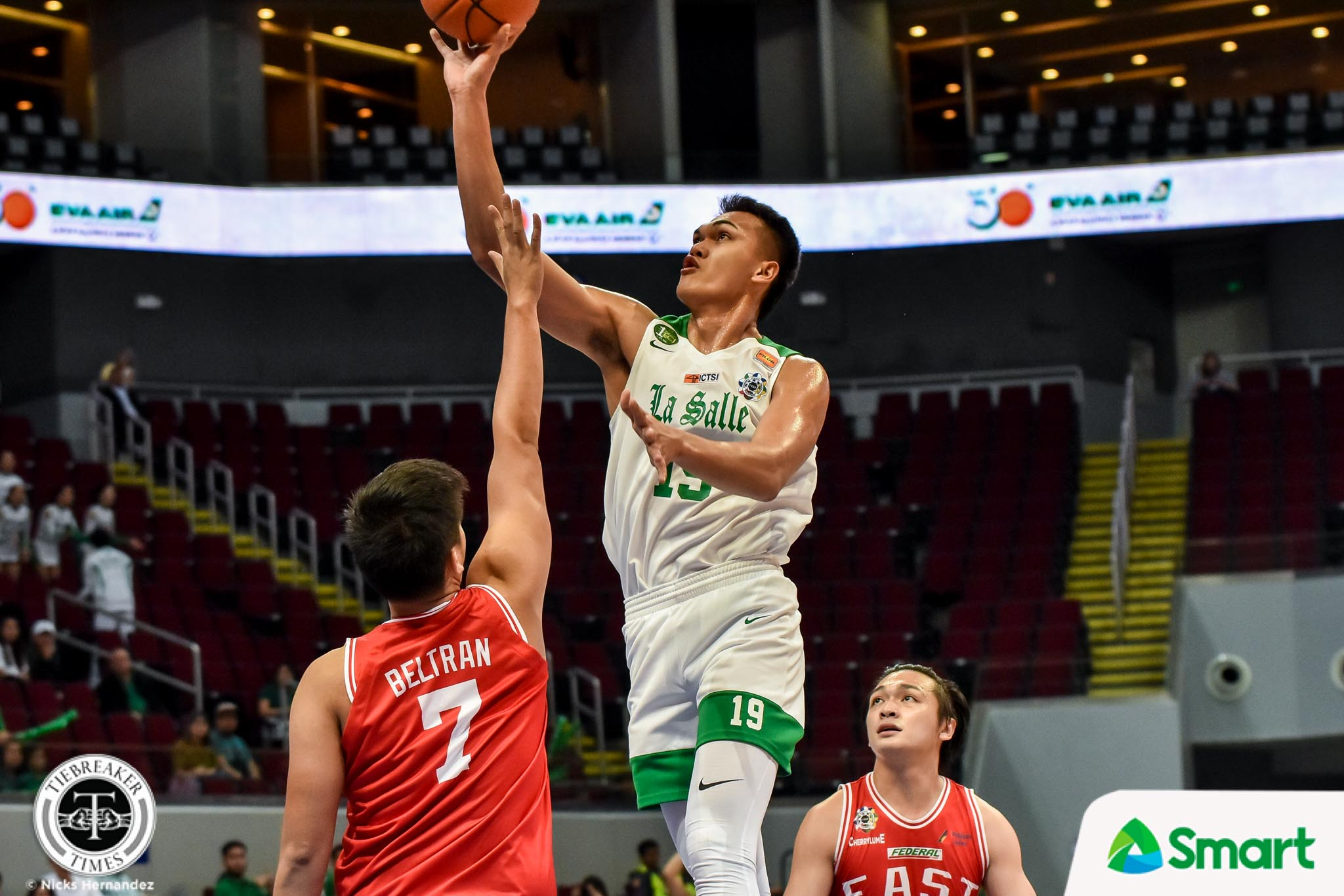 Tiebreaker Times Not even fever could stop Baltazar from avenging loss to UE Basketball DLSU News UAAP  UAAP Season 82 Men's Basketball UAAP Season 82 Justine Baltazar Gian Nazario DLSU Men's Basketball