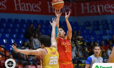Tiebreaker Times Mapua stays alive in Final Four race, romps San Sebastian Basketball MIT NCAA News SSC-R  San Sebastian Seniors Basketball Rommel Calahat RK Ilagan Noah Lugo NCAA Season 95 Seniors Basketball NCAA Season 95 Mapua Seniors Basketball Laurenz Victoria Egay Macaraya Cyril Gonzales Allyn Bulanadi