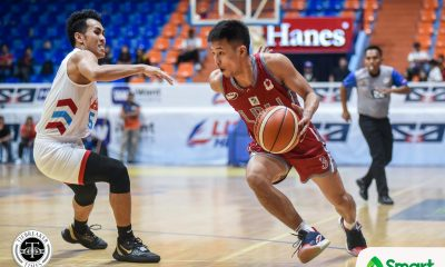 Tiebreaker Times Jaycee Marcelino takes over anew as Lyceum staves off EAC Basketball EAC LPU NCAA News  Topex Robinson Reymar Caduyac Oliver Bunyi NCAA Season 95 Seniors Basketball NCAA Season 95 Mike Nzeusseu Marwin Taywan Lyceum Seniors Basketball Jethro Mendoza Jaycee Marcelino EAC Seniors Basketball