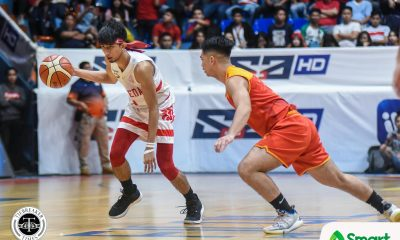 Tiebreaker Times San Beda extends streak to 30, locks down Mapua Basketball MIT NCAA News SBC  tonald tankoua San Beda Seniors Basketball Randy Alcantara Noah Lugo NCAA Season 95 Seniors Basketball NCAA Season 95 Mapua Seniors Basketball James Canlas Evan Nelle Calvin Oftana Boyet Fernandez AC Soberano