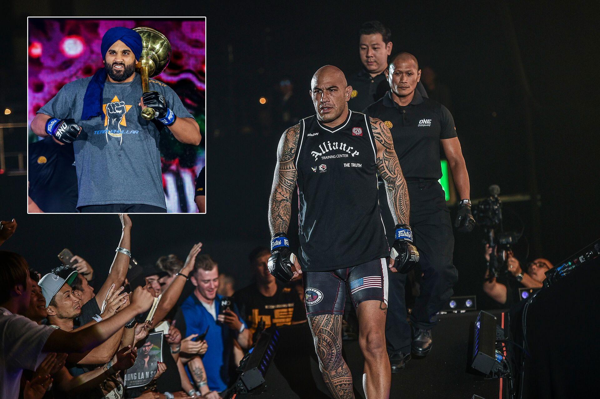 ONE-Century-Arjhan-Bhullar-vs-Brandon-Vera Brandon Vera yet to hear 'voice' urging him to retire on top Mixed Martial Arts News ONE Championship  - philippine sports news