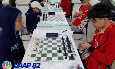 Tiebreaker Times Palma, UE remain unbeaten in UAAP Boys' Chess ADMU AdU Chess DLSU FEU News NU UAAP UE UP UST  UE Boys Chess UAAP Season 82 Girls Chess UAAP Season 82 Boys Chess UAAP Season 82 NU Girls Chezz NU Boys Chess Norsh Lopez Mark Gerald Reyes Lee Roi Palma Joseph Lawrence Rivera John Kenneth Gelua Jefferson Villarin Francis Parro FEU Girls Chess FEU Boys Chess DLSZ Girls Chess DLSZ Boys Chess Dannis Gutierrez Chester Neil Reyes Ateneo Girls Chess Ateneo Boys Chess Adamson Girls Chess Adamson Boys Chess