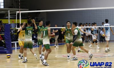 Tiebreaker Times Advincula shines as FEU-D outlasts Adamson to seal Final Four berth ADMU AdU DLSU FEU News UAAP Volleyball  UAAP Season 82 Boys Volleyball UAAP Season 82 Simon Encarnacion Sherwin Umandal Rojie Guadamor Rans Cajolo nathaniel del pilar John Gay Jerold Talisayan FEU Boys Volleyball Emmanuel Advincula DLSZ Boys Volleyball Benny Martinez Ateneo Boys Volleyball Angelo Lipata Andre Espejo Amil Pacinio Adamson Boys Volleyball