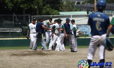 Tiebreaker Times Cabanillas clutch as NU survives heated affair vs DLSZ in UAAP Jrs Baseball ADMU Baseball DLSU News NU UAAP UST  UST Juniors Baseball UAAP Season 82 Juniors Baseball UAAP Season 82 Steven Dominguez Ricardo Jimenez Regie Omana Rafael Regalado NU Juniors Baseball Nico Calanday Kurt Cabanillas Jeffrey Santiago Egay delos Reyes DLSZ Juniors Baseball Ateneo Juniors Baseball