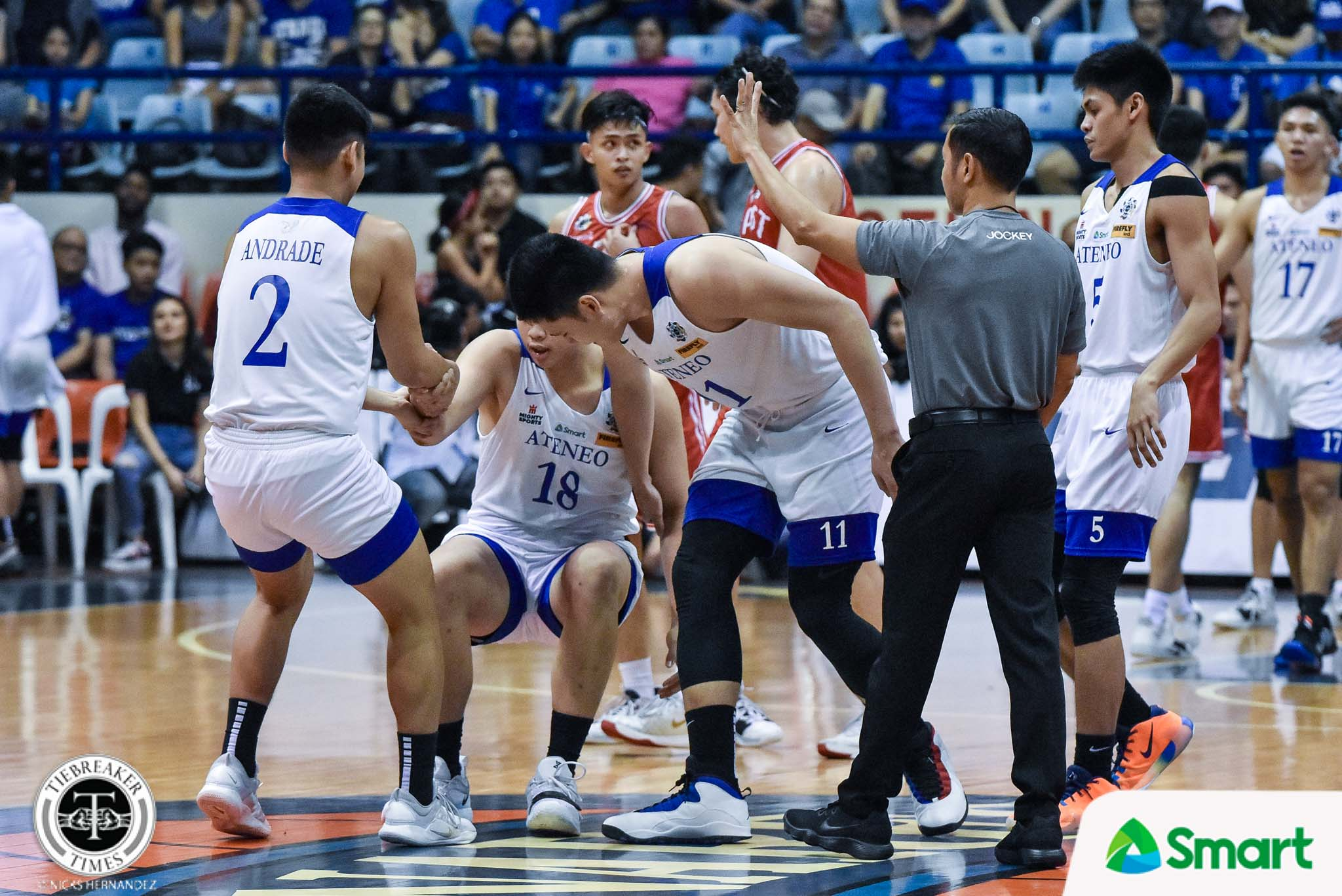 Tiebreaker Times Isaac Go excited for Geo Chiu's bright future ADMU Basketball News UAAP  UAAP Season 82 Men's Basketball UAAP Season 82 Isaac Go Geo Chiu Ateneo Men's Basketball
