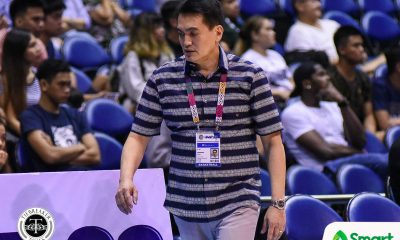 Tiebreaker Times Franz Pumaren can't leave Adamson behind even after surgery AdU Basketball News UAAP  UAAP Season 82 Men's Basketball UAAP Season 82 Tab Baldwin Franz Pumaren Adamson Men's Basketball