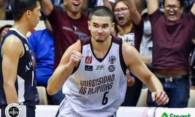 Tiebreaker Times Kobe Paras says cardiac UP is UAAP's 'most entertaining team' Basketball News UAAP UP  UP Men's Basketball UAAP Season 82 Men's Basketball UAAP Season 82 Kobe Paras