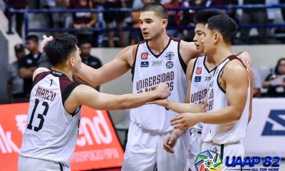 Tiebreaker Times Emotional Jun Manzo treated Adamson game as his last Basketball News UAAP UP  UP Men's Basketball uapa season 82 UAAP Season 82 Men's Basketball Jun Manzo Bo Perasol