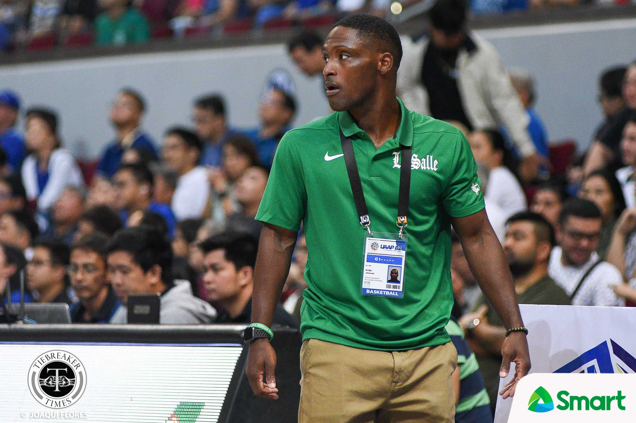 Tiebreaker Times Jermaine Byrd hopes to get another shot at Ateneo Basketball DLSU News UAAP  UAAP Season 82 Men's Basketball UAAP Season 82 Tab Baldwin Jermaine Byrd DLSU Men's Basketball