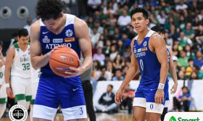 Tiebreaker Times Ravena, Nieto twins turn sentimental after playing last Ateneo-La Salle elims game ADMU Basketball News UAAP  UAAP Season 82 Men's Basketball UAAP Season 82 Thirdy Ravena Mike Nieto Matt Nieto Ateneo Men's Basketball