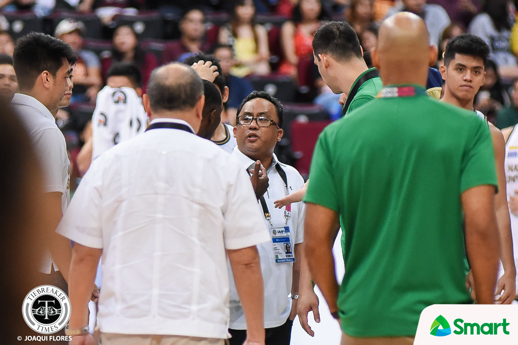 Tiebreaker Times Jarin says Byrd broke 'unwritten ethics', accepts apology Basketball DLSU News UAAP  UAAP Season 82 Men's Basketball UAAP Season 82 NU Men's Basketball Jamike Jarin