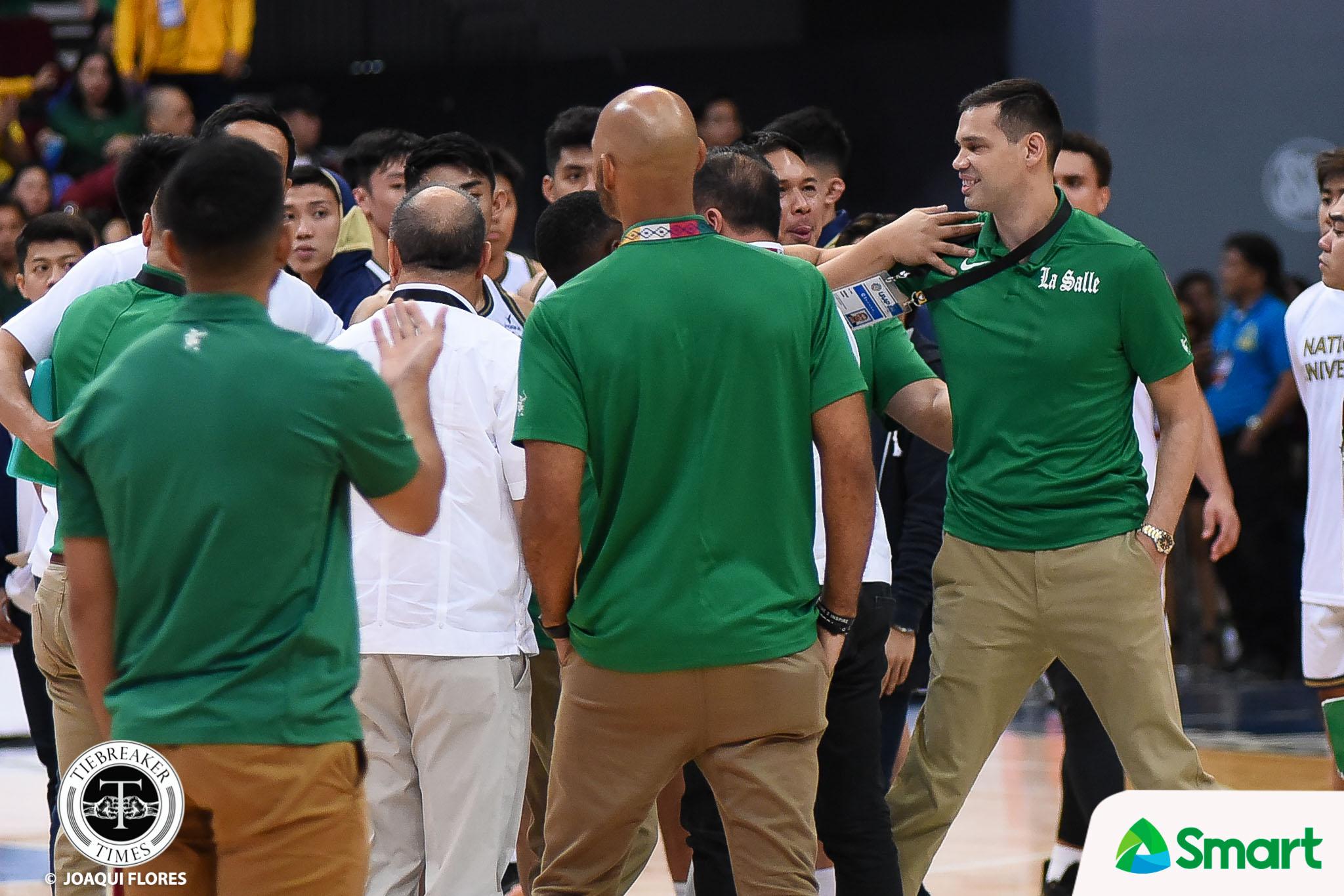 Tiebreaker Times Jarin, Byrd figure in post-game confrontation Basketball DLSU News UAAP  UAAP Season 82 Men's Basketball UAAP Season 82 Jermaine Byrd DLSU Men's Basketball