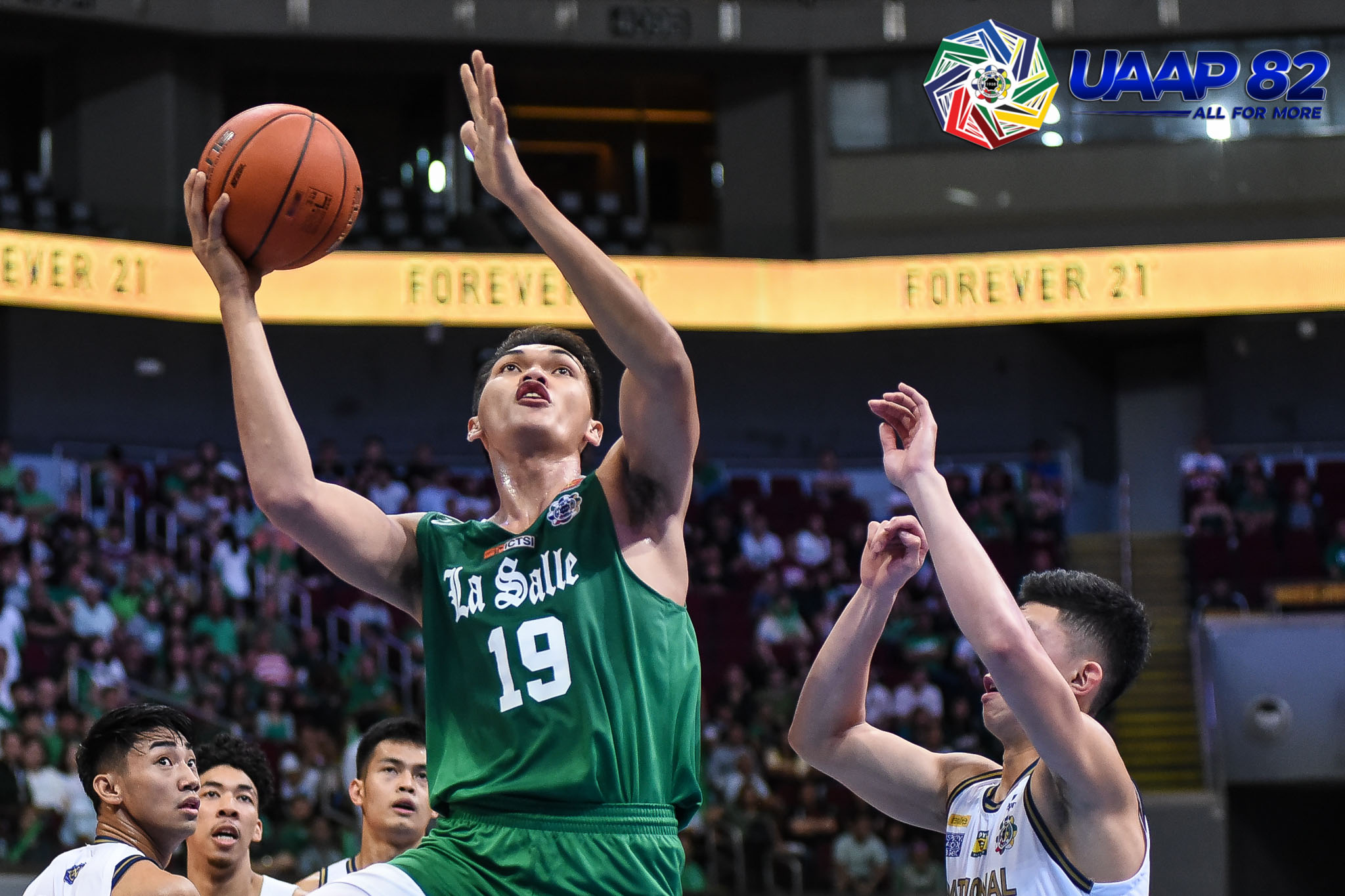 Tiebreaker Times Justine Baltazar posts 25-25, leads La Salle rout of NU for tie of third Basketball DLSU News NU UAAP  UAAP Season 82 Men's Basketball UAAP Season 82 Shaun Ildefonso NU Men's Basketball Justine Baltazar Jamike Jarin Jamie Orme-Malonzo Jamie Orme Gian Nazario DLSU Men's Basketball Dave Ildefonso Andrei Caracut