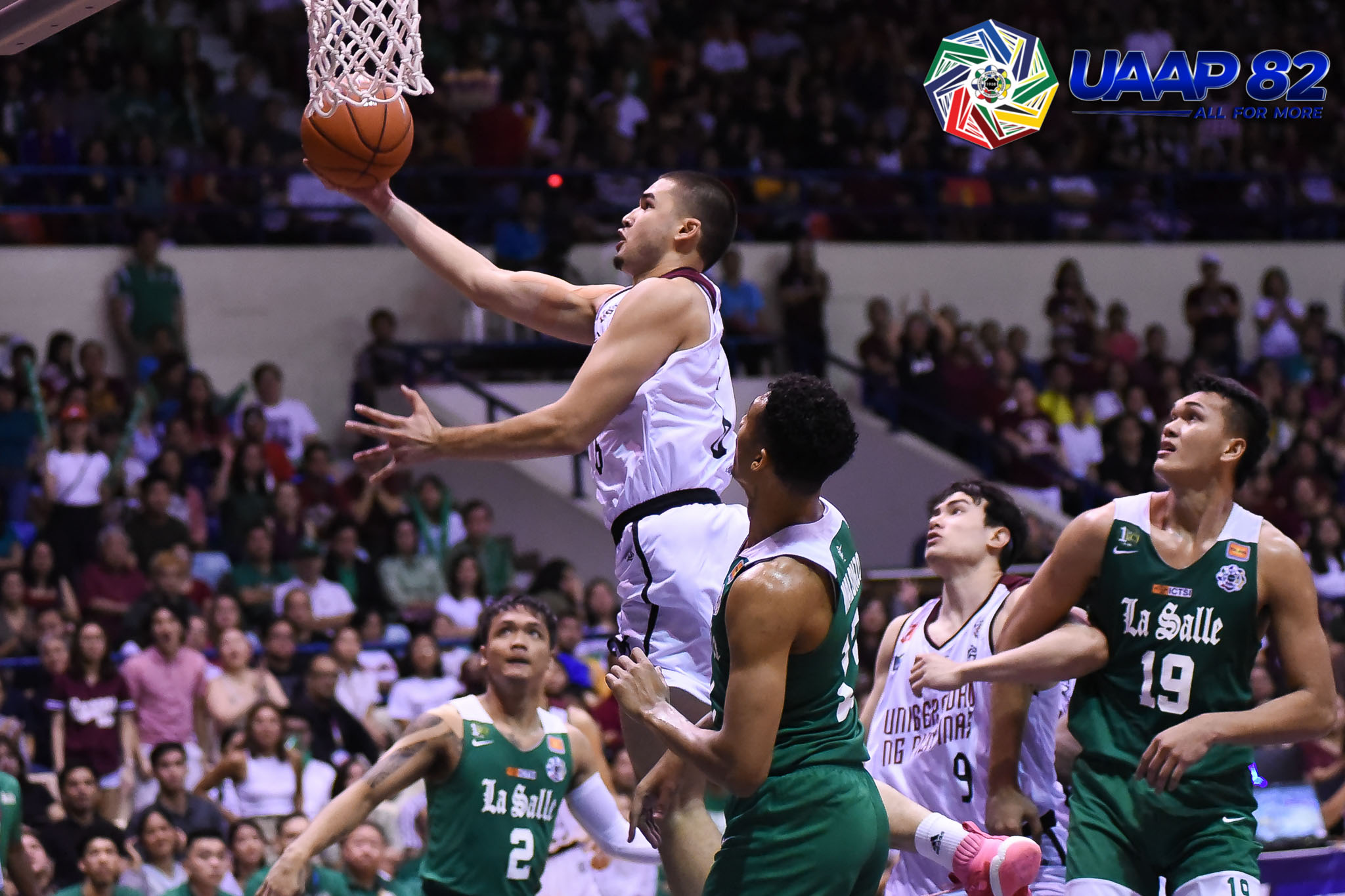 Tiebreaker Times UP captures playoff incentive, boots out La Salle Basketball DLSU News UAAP UP  UP Men's Basketball UAAP Season 82 Men's Basketball UAAP Season 82 Ricci Rivero Kobe Paras Jun Manzo Jamie Orme-Malonzo Jamie Orme Gian Nazario DLSU Men's Basketball Bright Akhuetie Bo Perasol Aljun Melecio