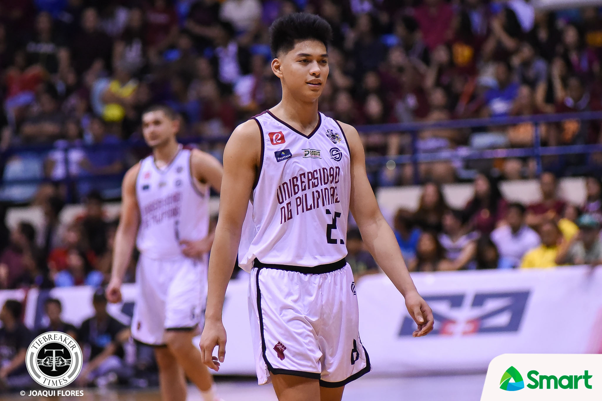 Tiebreaker Times Ricci Rivero not motivated by vengeance vs La Salle: 'Just about the second seed' Basketball News UAAP UP  UAAP Season 82 Men's Basketball UAAP Season 82 Ricci Rivero DLSU Men's Basketball Bo Perasol