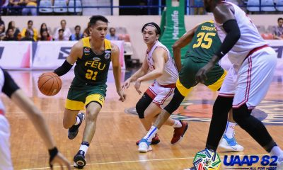 Tiebreaker Times FEU whitewashes UE, punches ticket to Final Four Basketball FEU News UAAP UE  UE Men's Basketball UAAP Season 82 Men's Basketball UAAP Season 82 Royce Alforque Rey Suerte Olsen Racela Lawrence Chongson L-Jay Gonzales Jem Cruz ino comboy FEU Men's Basketball Adama Diakhite