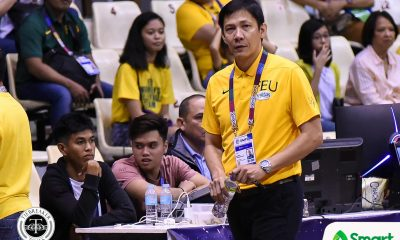 Tiebreaker Times Comboy, Tuffin, Stockton need to match UST's athletic wings, says Olsen Racela Basketball FEU News UAAP  UAAP Season 82 Men's Basketball UAAP Season 82 Olsen Racela FEU Men's Basketball