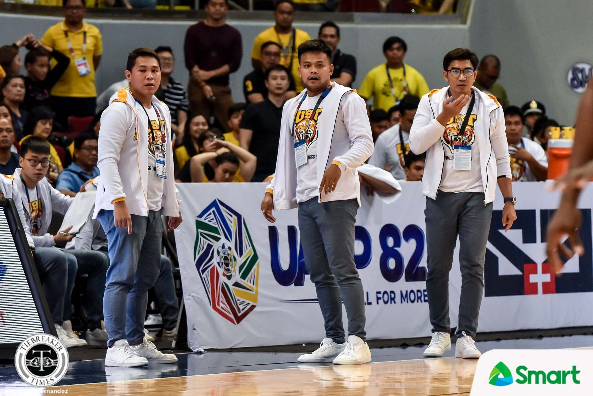 Tiebreaker Times What made Aldin Ayo's 42nd birthday special Basketball News UAAP UST  UST Men's Basketball UAAP Season 82 Men's Basketball UAAP Season 82 Aldin Ayo