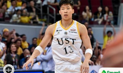 Tiebreaker Times Learning never stops for Zachy Huang Basketball News UAAP UST  Zachary Huang UST Men's Basketball UAAP Season 82 Men's Basketball UAAP Season 82