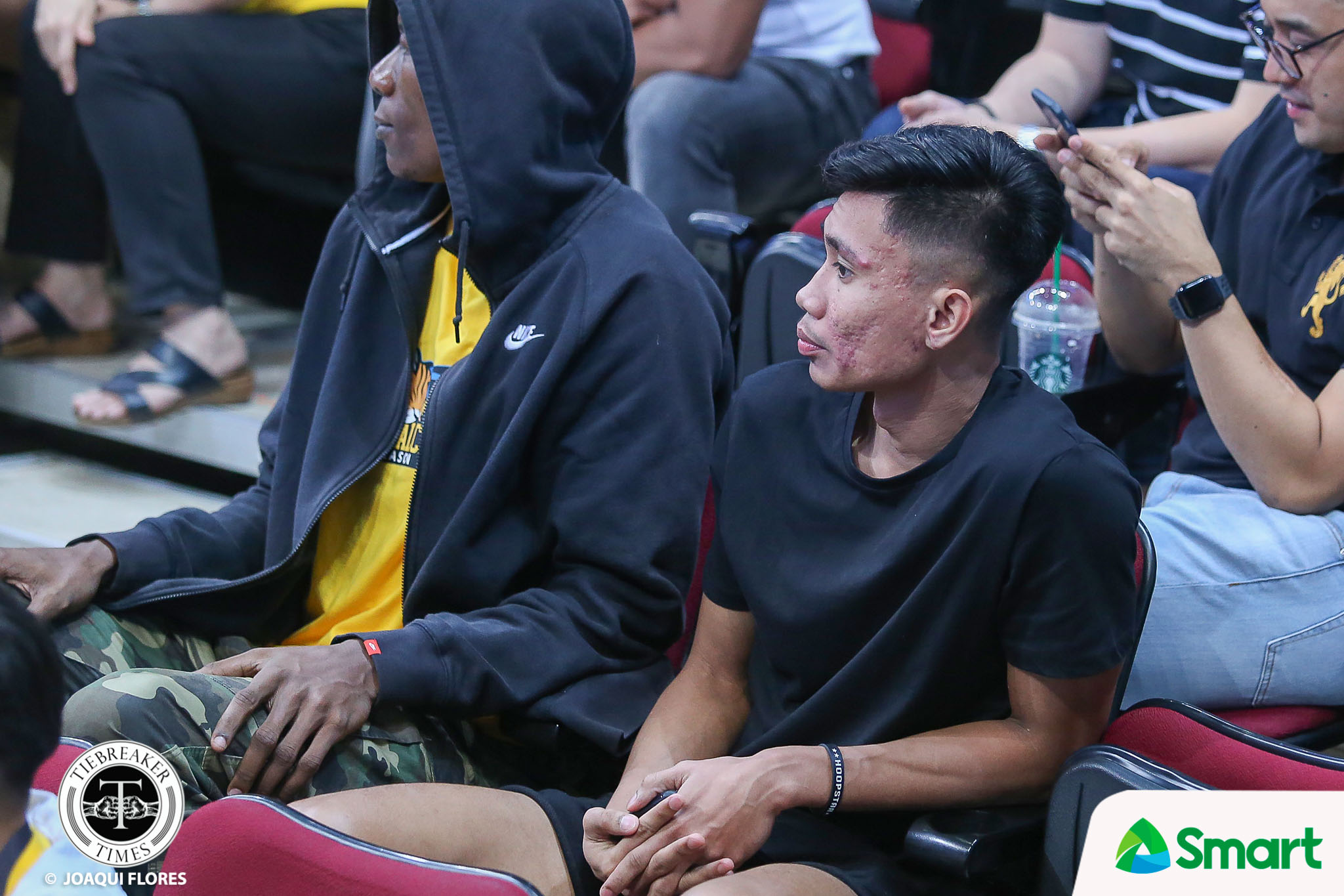 Tiebreaker Times Ayo refuses to comment on Rhenz Abando benching Basketball News UAAP UST  UST Men's Basketball UAAP Season 82 Men's Basketball UAAP Season 82 Rhenz Abando Aldin Ayo