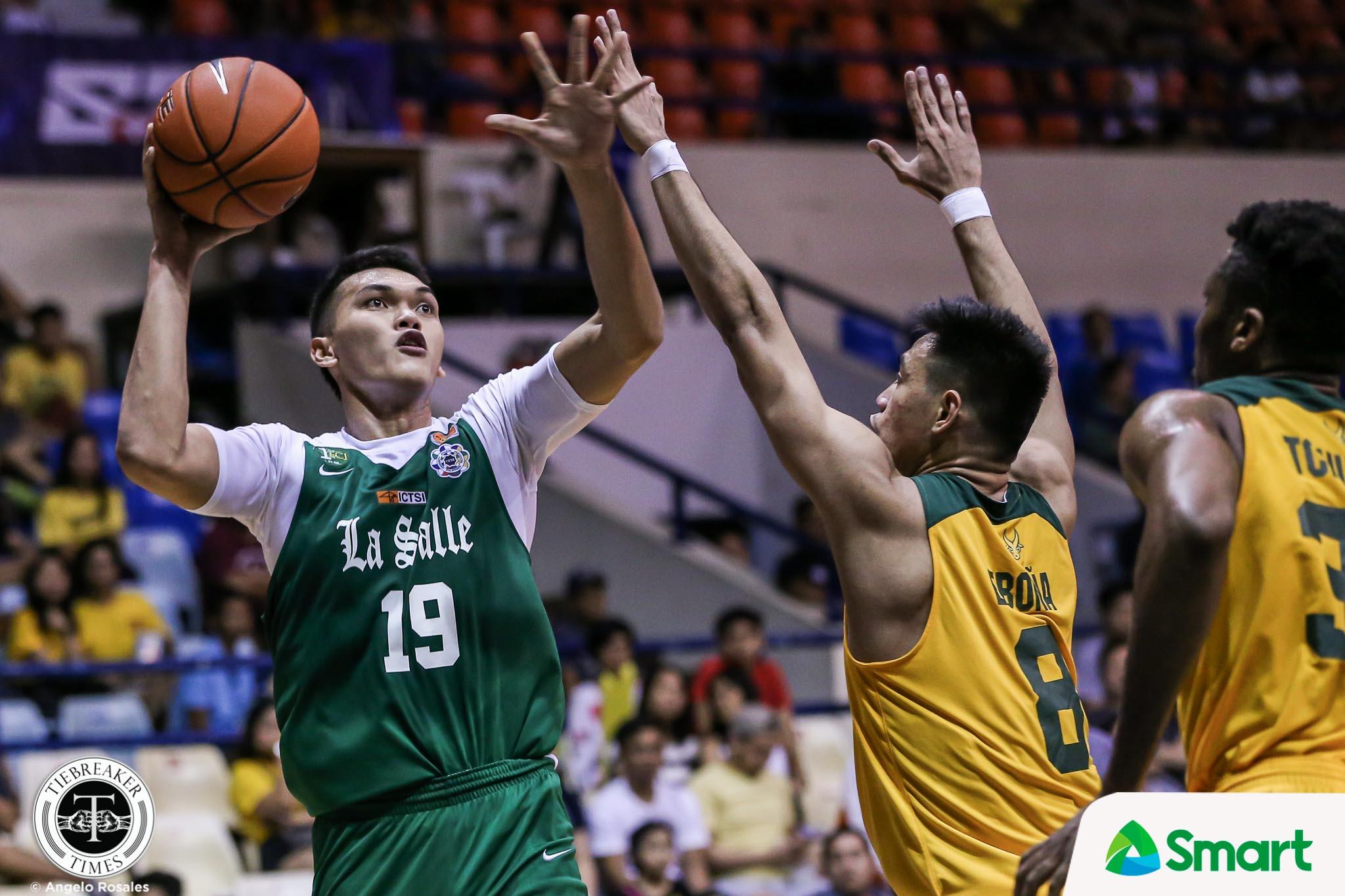 UAAP-82-MBT-FEU-VS-DLSU-BALTAZAR Justine Baltazar in Pampanga Delta lineup Basketball DLSU NBL News UAAP  - philippine sports news