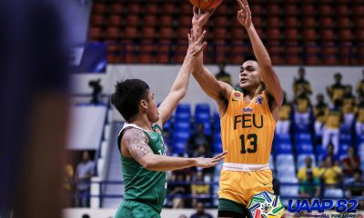 Tiebreaker Times L-Jay Gonzales dazzles as FEU torches La Salle for solo fourth Basketball DLSU FEU News UAAP  Xyrus Torres UAAP Season 82 Men's Basketball UAAP Season 82 Olsen Racela L-Jay Gonzales Ken Tuffin Justine Baltazar Jamie Orme-Malonzo Jamie Orme ino comboy Gian Nazario FEU Men's Basketball DLSU Men's Basketball
