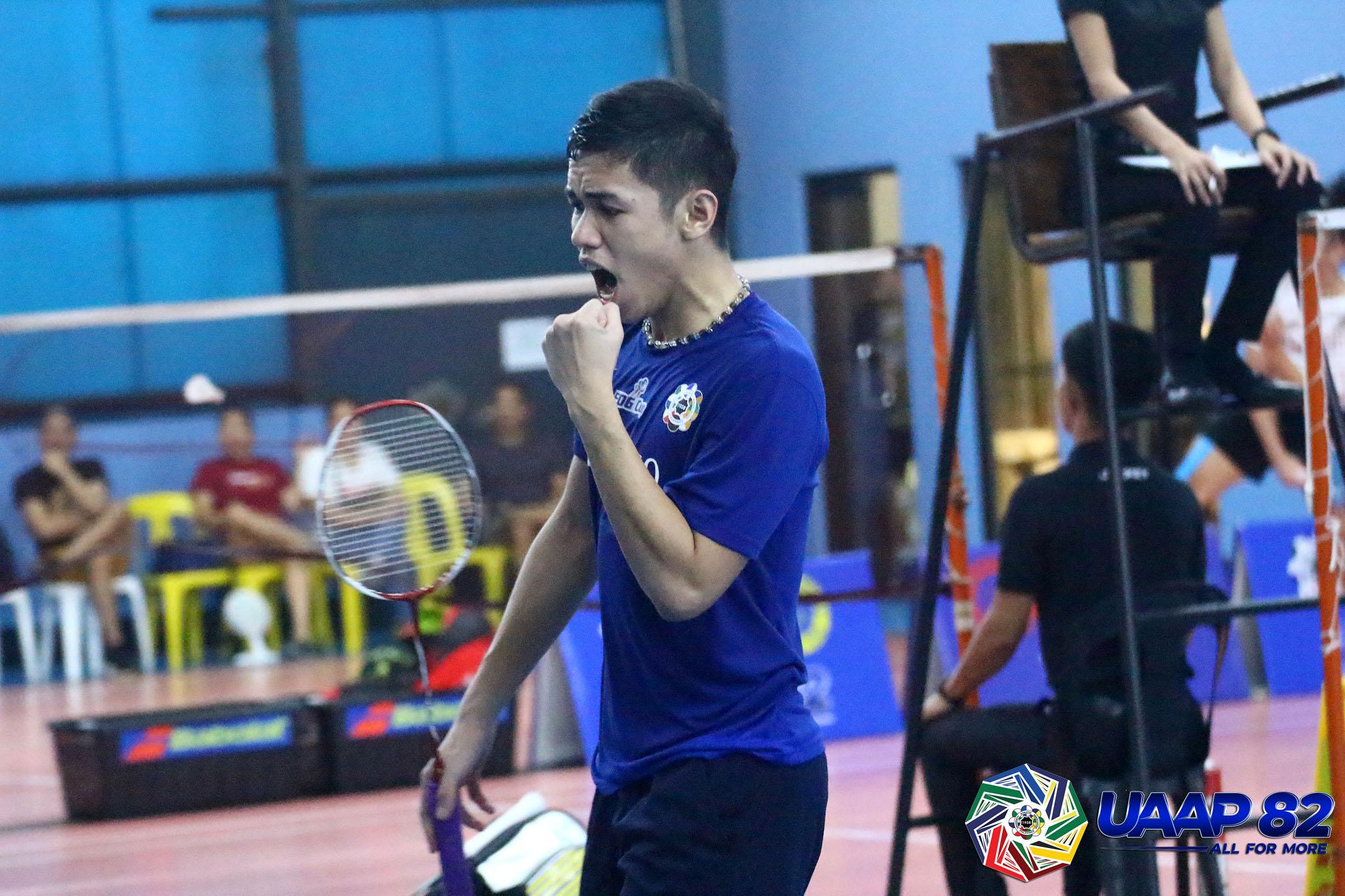 UAAP-82-Mens-Badminton-Semifinal-ADMU-v-DLSU-Salvado-Jr NU Bulldogs, Ateneo Blue Eagles book UAAP Men's Badminton Finals date ADMU Badminton DLSU News NU UAAP UP  - philippine sports news