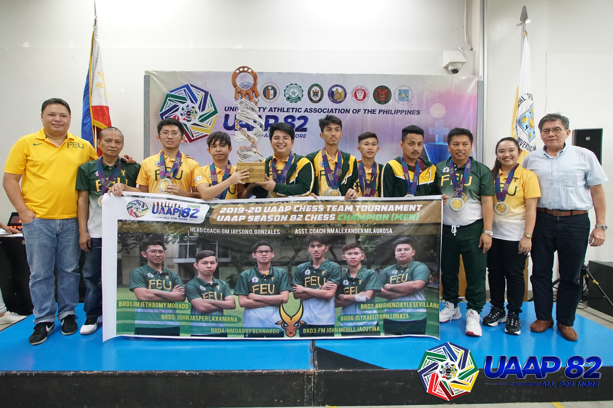 Tiebreaker Times Jacutina hailed rookie MVP as FEU completes run to 15th UAAP Chess crown ADMU Chess FEU News NU UAAP UP UST  UST Men's Chess UP Men's Chess UAAP Season 82 Men's Chess UAAP Season 82 Tristan Jared Cervero RK Sevillano NU Men's Chess JM Jacutina Jeth Romy Morado Israelito Rilloraza FEU Men's Chess Ateneo Men's Chess AJ Almodal