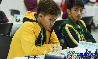 Tiebreaker Times Morado, Sevillo-less FEU on verge of 15th UAAP Men's Chess title ADMU AdU Chess DLSU FEU News NU UAAP UE UP UST  UST Men's Chess UP Men's Chess UE Men's Chess Tristan Cervero NU Men's Chess Julius Gonzales John Jasper Laxamana JM Jacutina Jayson Gonzales Israelito Rilloraza FEU Men's Chess DLSU Men's Chess Darry Bernardo Brylle Vinluan Ateneo Men's Chess Alexander Santos AJ Almodal Adamson Men's Chess