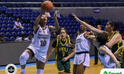 Tiebreaker Times Animam, Pingol deliver in clutch as NU Lady Bulldogs survive FEU Basketball FEU News NU UAAP  UAAP Season 82 Women's Basketball UAAP Season 82 Patrick Aquino NU Women's Basketball Kelli Hayes Kaye Pingol Jack Animam FEU Women's Basketball Blanche Bahuyan Bert Flores