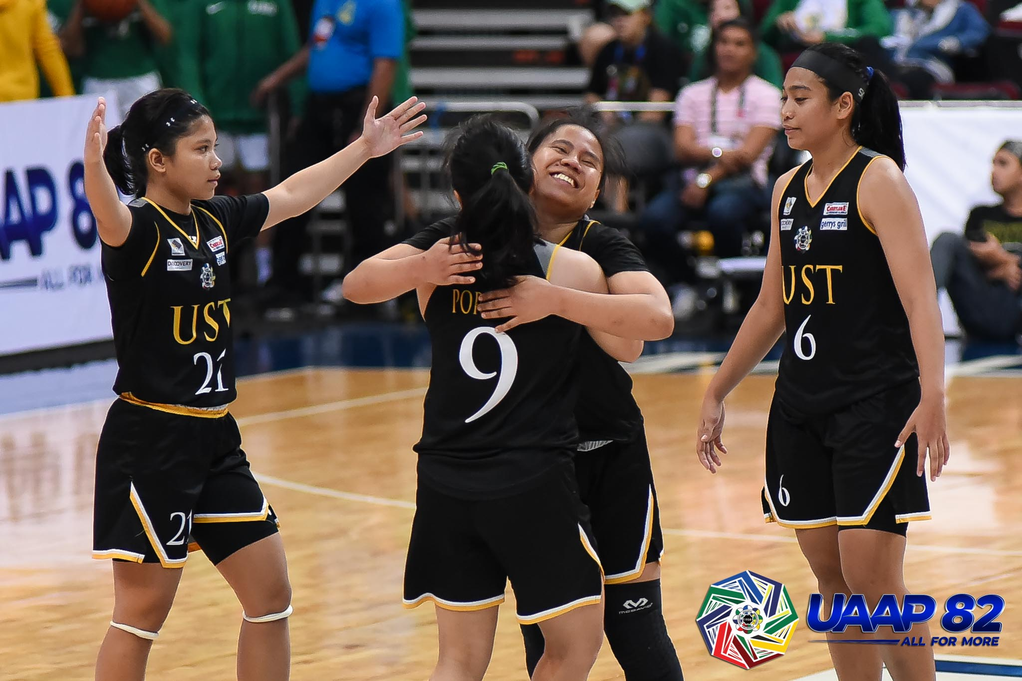 Tiebreaker Times Tacky Tacatac steps up as UST picks up pivotal win over FEU Basketball FEU News UAAP UST  Valerie Mamaril UST Women's Basketball UAAP Season 82 Women's Basketball UAAP Season 82 Ruby Portillo Haydee Ong Grace Irebu FEU Women's Basketball Clare Castro Blanche Bahuyan Bert Flores Ana Tacatac