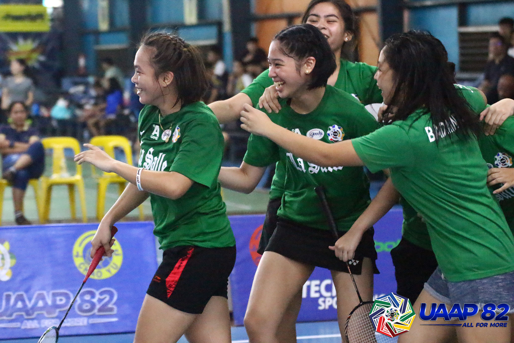 UAAP-82-Womens-Badminton-Semifinal-DLSU-v-UP-Boloron-Cruz Ateneo dominates, La Salle takes vengeance to set up UAAP Women's Badminton Finals ADMU Badminton DLSU News NU UAAP UP  - philippine sports news