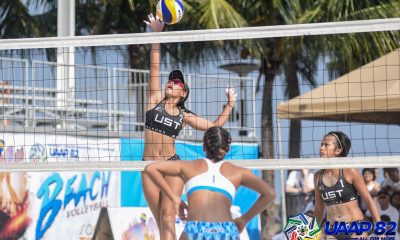 Tiebreaker Times UST Tigresses, DLSU Lady Spikers forge title showdown as Ateneo bags bronze ADMU DLSU FEU News UAAP UST Volleyball  UST Women's Volleyball UAAP Season 82 Women's Beach Volleyball UAAP Season 82 Tin Tiamzon Shiela Kiseo sheena gallentes Roma Mae Doromal Ponggay Gaston Justine Jazareno Gen Eslapor FEU Women's Volleyball DLSU Women's Volleyball Babylove Barbon Ateneo Women's Volleyball