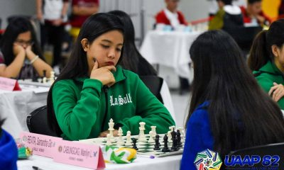 Tiebreaker Times FEU, La Salle head to final UAAP Women's Chess day with title in balance ADMU AdU Chess DLSU FEU News NU UAAP UE UP UST  UST Women's Chess UP Women's Chess UE Women's Chess UAAP Season 82 Women's Chess UAAP Season 82 Shania Mae Mendoza Samantha Glo Revita Rizza Mae Tandog Rizalyn Jasmine Tejada NU Women's Chess Marife Dela Torre Jellie Ann Magro Franchell Eds Javier FEU Women's Chess Ella Grace Moulic DLSU Women's Chess Bea Mendoza Ateneo Women's Chess Antoinette Marie San Diego Anne Krischa Tagayuna Adamson Women's Chess