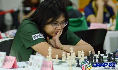 Tiebreaker Times FEU still on top of UAAP Women's Chess after Round 11 ADMU AdU Chess DLSU FEU News NU UAAP UE UP UST  Viona Nepascua UST Women's Chess UP Women's Chess UE Women's Chess UAAP Season 82 Women's Chess UAAP Season 82 Shania Mae Mendoza Samantha Revita NU Women's Chess Marife Dela Torre Marie Antoinette San Diego Franchell Eds Javier FEU Women's Chess DLSU Women's Chess China Espanola Charmaine Manga Bea Mendoza Ateneo Women's Chess Adamson Women's Chess Abigail Tamundong