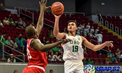 Tiebreaker Times Baltazar, La Salle exact vengeance on UE for bounce back win Basketball DLSU News UAAP UE  UE Men's Basketball UAAP Season 82 Men's Basketball UAAP Season 82 Rey Suerte Philip Manalang Lawrence Chongson Justine Baltazar jamie malonzo Gian Nazario Encho Serrano DLSU Men's Basketball Adama Diakhite