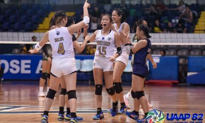 Tiebreaker Times Mhicaela Belen leads NU Lady Bullpups to UAAP Girls' Volleyball playoffs AdU DLSU FEU News NU UAAP UP UST Volleyball  UST Girls Volleyball UP Girls Volleyball UE Girls Volleyball UAAP Season 82 Girls Volleyball UAAP Season 82 regine diego Regina Jurado NU Girls Volleyball Mhicaela Belen Kate Santiago juliana carreon Jeulyanna Ferrer jean jamili Irah Jaboneta Freighanne Garcia DLSZ Girls Volleyball Det Pepito Chris Ann Susbilla Angel Canino Adamson Girls Volleyball