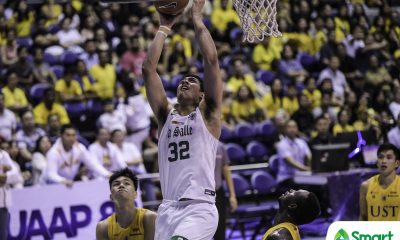 Tiebreaker Times Brandon Bates proves to bashers that he is not 'useless' Basketball DLSU News UAAP  UAAP Season 82 Men's Basketball UAAP Season 82 DLSU Men's Basketball Brandon Bates