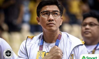 Tiebreaker Times Aldin Ayo resigns as UST head coach Basketball News UAAP UST  UST Men's Basketball UST Boys Basketball UAAP Season 83 Men's Basketball UAAP Season 83 McJour Luib Jinino Manansala Aldin Ayo