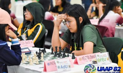Tiebreaker Times FEU battles La Salle to draw, keeps UAAP Women's Chess lead ADMU AdU Chess DLSU FEU News NU UAAP UE UP UST  UST Women's Chess UP Women's Chess UE Women's Chess UAAP Season 82 Women's Chess UAAP Season 82 Shania Mae Mendoza Samantha Revita Rizalyn Tejada NU Women's Chess Marife Dela Torre Marie Antoinette San Diego Franchell Javier FEU Women's Chess Ella Moulic Bea Mendoza Ateneo Women's Chess Adamson Women's Chess