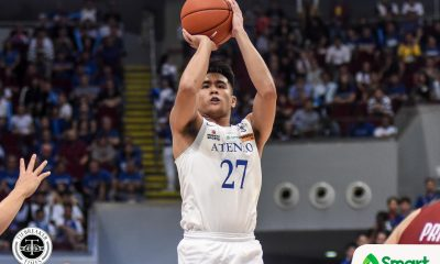 Tiebreaker Times Collegiate PC POW SJ Belangel honors his seniors ADMU Basketball News UAAP  UAAP Season 82 Men's Basketball UAAP Season 82 UAAP Player of the Week SJ Belangel Chooks-to-Go