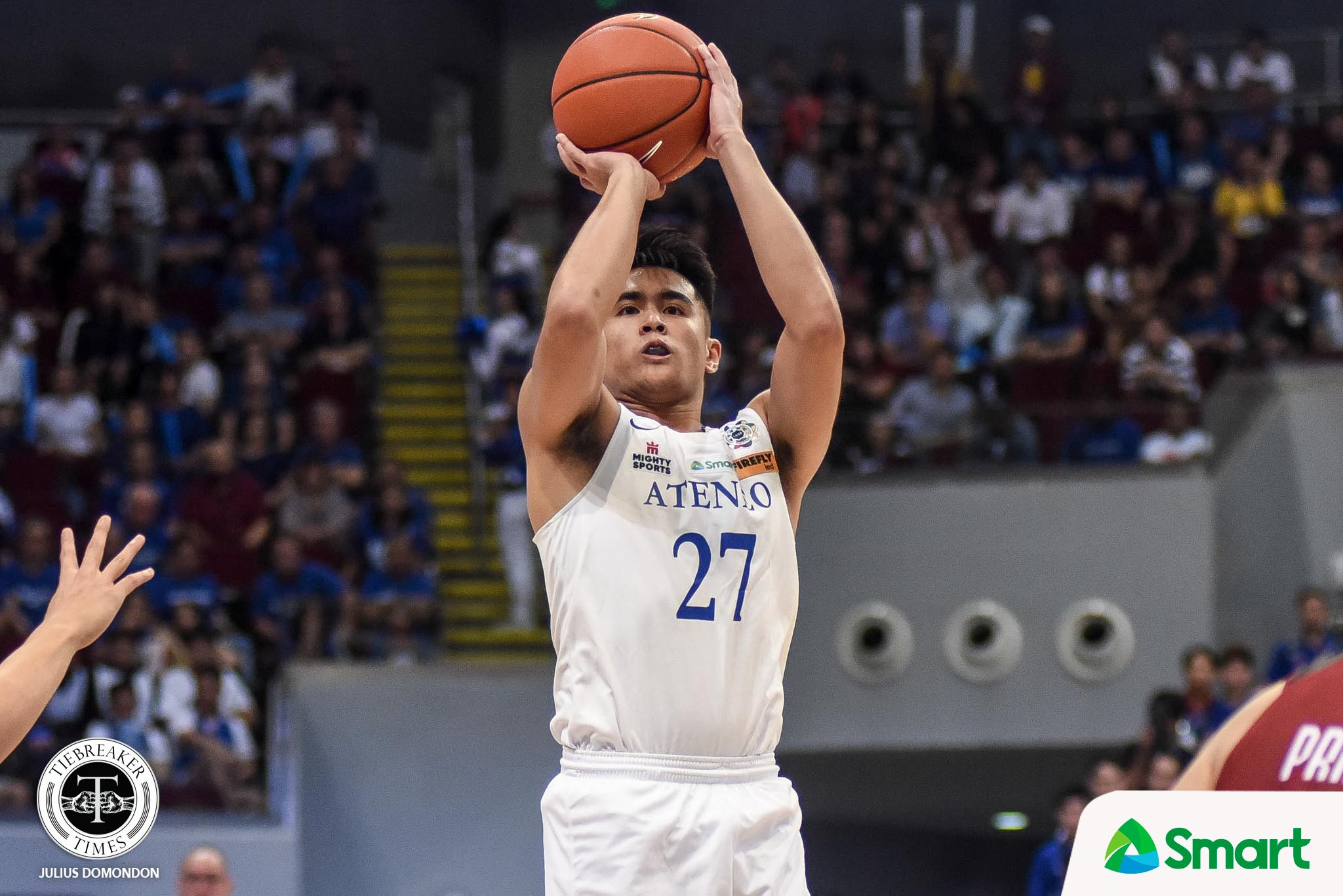 UAAP82-MBB-11TH-PHOTO-ADMU-SJ-BELANGEL Forthsky Padrigao to remain in Ateneo for college ADMU Basketball News UAAP  - philippine sports news