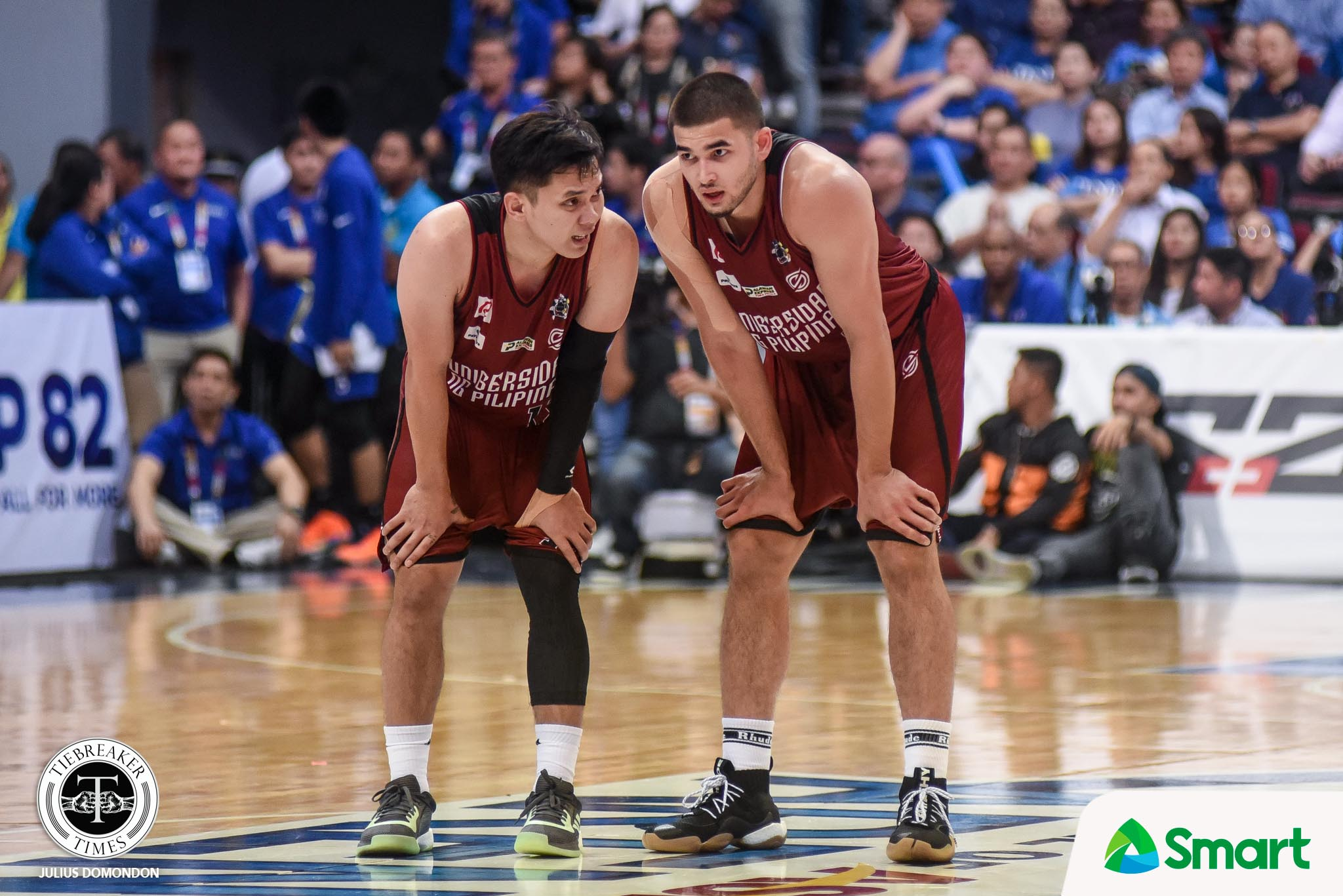Tiebreaker Times Ateneo loss showed that UP needs to learn composure, says Kobe Paras Basketball News UAAP UP  UP Men's Basketball UAAP Season 82 Men's Basketball UAAP Season 82 Kobe Paras