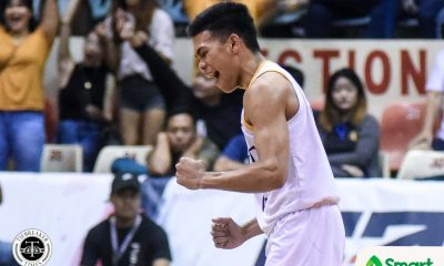 Tiebreaker Times UST Growling Tigers survive Adamson this time, gain at least playoff AdU Basketball News UAAP UST  UST Men's Basketball UAAP Season 82 Men's Basketball UAAP Season 82 Simon Camacho Mark Nonoy Franz Pumaren Aldin Ayo Adamson Men's Basketball