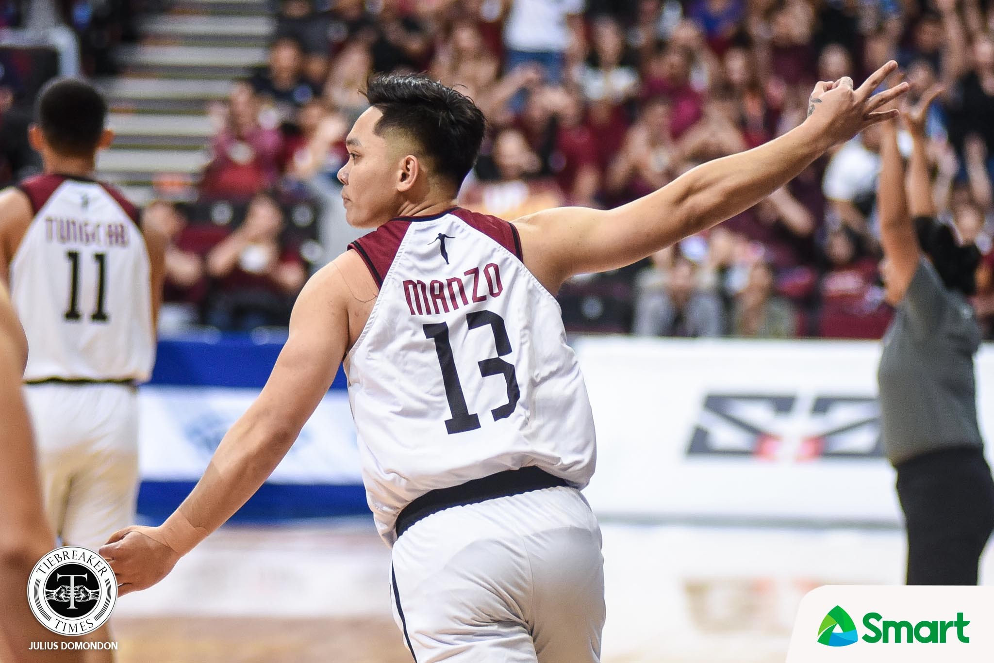 Tiebreaker Times Long talk with Paul Desiderio goes a long way for Jun Manzo Basketball News UAAP UP  UP Men's Basketball UAAP Season 82 Men's Basketball UAAP Season 82 Paul Desiderio Jun Manzo