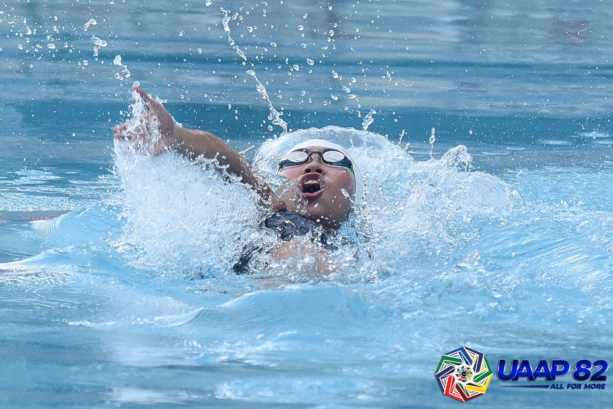 UAAP82-SWIMMING-12TH-PHOTO-100M-BACKSTROKE-GIRLS-UST-SHAYNE-LUGAY Junior Tigersharks shatter 200M relay record as UST on pace for High School double ADMU DLSU News Swimming UAAP UP UST  - philippine sports news