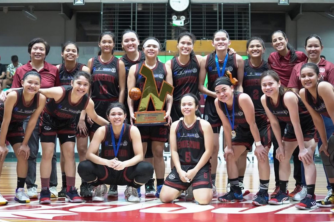 Tiebreaker Times Enderun Lady Titans complete season sweep for NAASCU four-peat Basketball NAASCU News  Ylassa Eufemiano Our Lady of Fatima University Lady Phoenix Mary Grace Calang Kristel Escotido Haydee Ong Enderun Lady Titans Cinderella Lopez Chrislyn Mier Caren Baylosis 2019 NAASCU Season