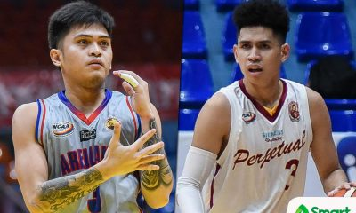 Tiebreaker Times Kent Salado, Edgar Charcos declare for PBA Draft AU Basketball NCAA News UPHSD  Perpetual Seniors Basketball NCAA Season 95 Seniors Basketball NCAA Season 95 Kent Salado Edgar Charcos Arellano Seniors Basketball 2019 PBA Draft